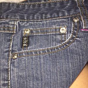 Mudd Jeans - MUDD BLUE JEANS PINK STITCHING SIZE 9